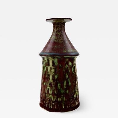 Stig Lindberg Art pottery vase Aniara glaze