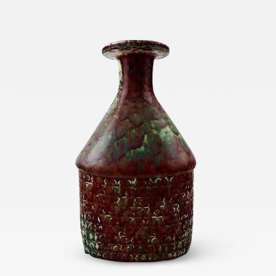 Stig Lindberg Large Stig Lindberg 1916 1982 Gustavsberg Studio art pottery vase