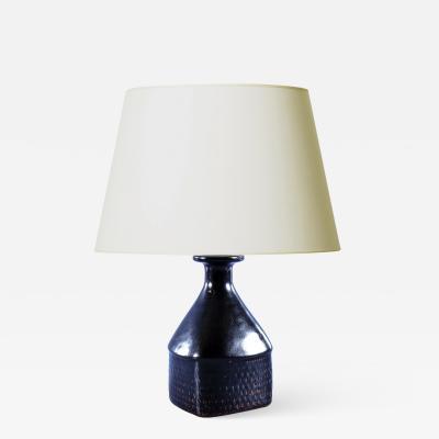 Stig Lindberg Mid Century Modern Lamp by Stig Lindberg