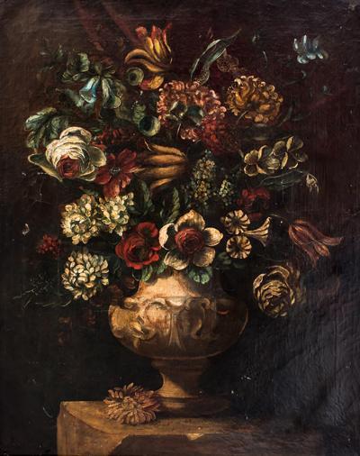 Still Life Flower 18th Century