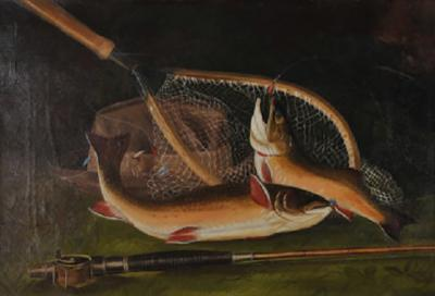 Still Life of Brook Trout