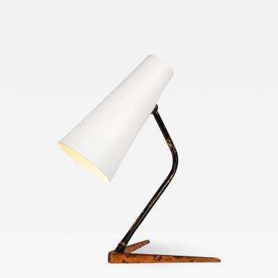 Stilux Milano 1960s Stilux Conical Copper Table Lamp