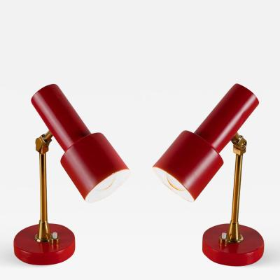 Stilux Milano Pair of Table Lamps by Stilux