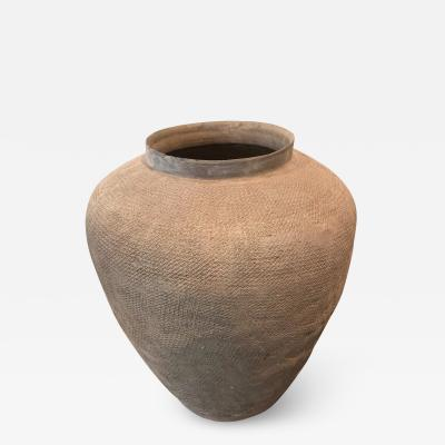 Stoneware Storage Jar China East Zhou Dynasty