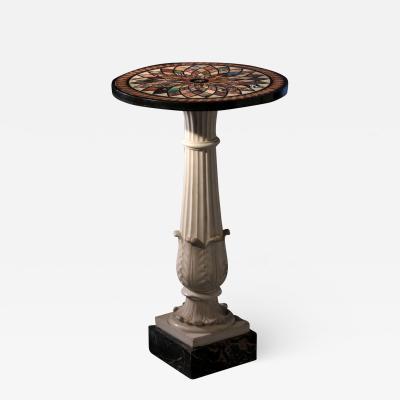 Stony Sample Case Table Rome Raffaelli Factory