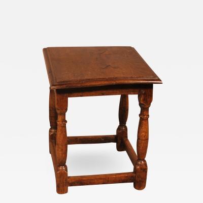 Stool In Oak 17th Century france