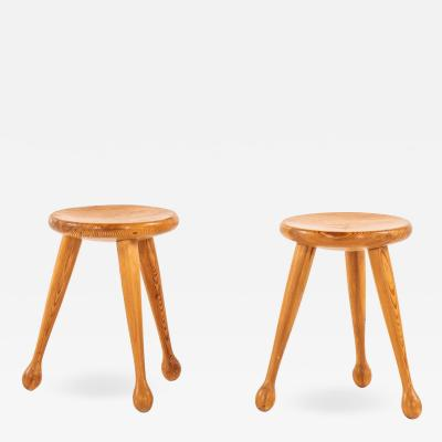 Stools Probably Produced in Sweden