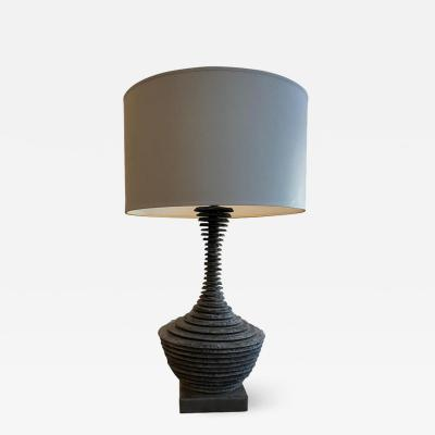 Strata Slate Amphora Table Lamp