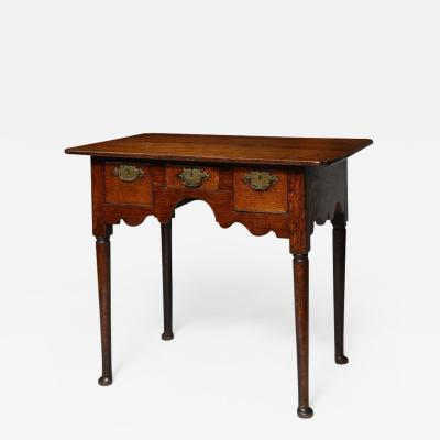 Striking Queen Anne Three Drawer Table