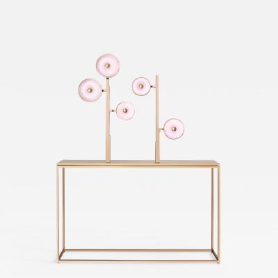 Studio MVW JinShi Pink Jade Luminous Console