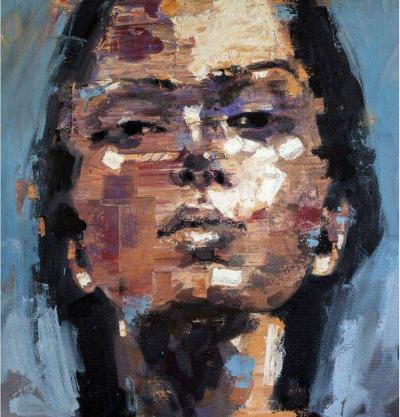 Study of Thoughts Painting by Thomas Johnson