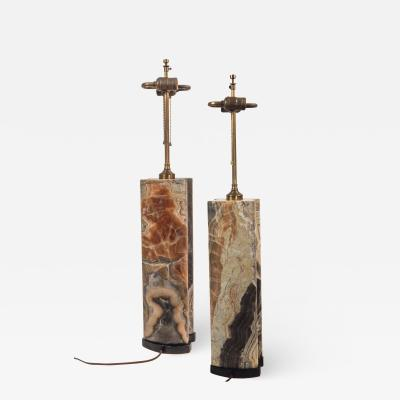 Stunning Pair of Mid Century Table Lamps