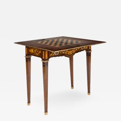 Style Louis XV Game Table