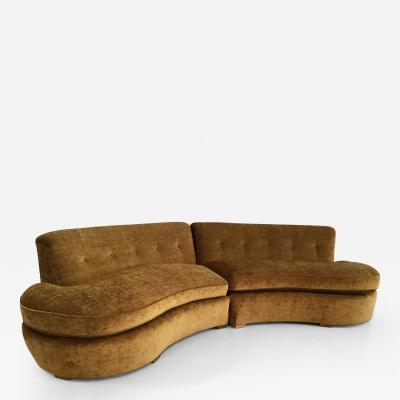 Style of Vladimir Kagan Sectional Sofa