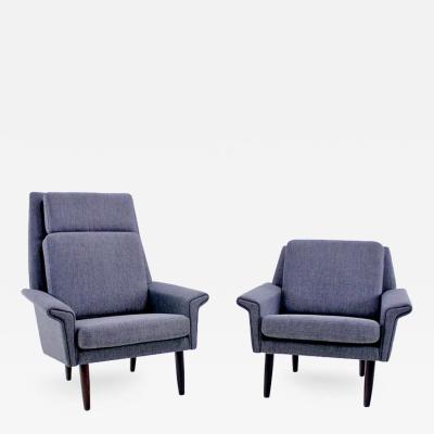 Stylish Danish Modern Mama Papa Chairs