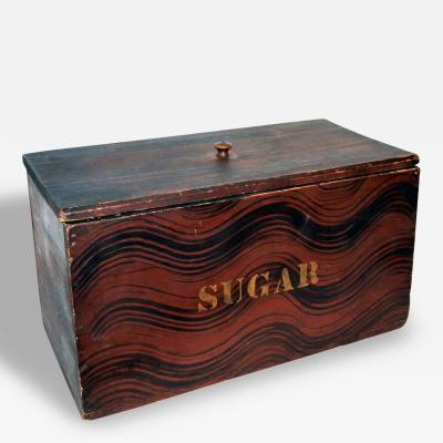 Sugar Box Maine Original Paint Circa 1840
