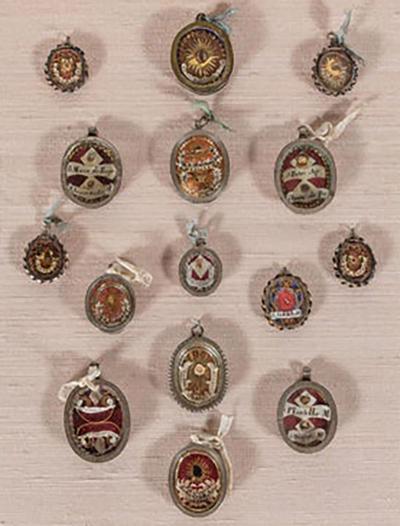 Suite of 17th Century Reliquaries