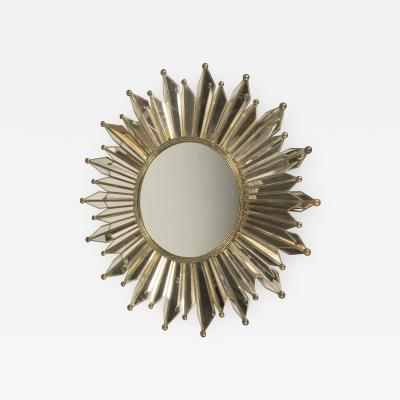Sunburst Mirror France 1950s