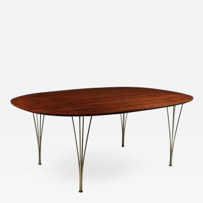 Super Elliptical Dining Table by Piet Hein and Bruno Matheson c1960