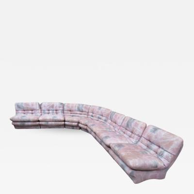 Super Seven Piece Sectional Sofa Mid Century Modern