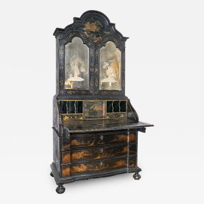 Superb Venetian Chinoiserie Drop Front Cabinet