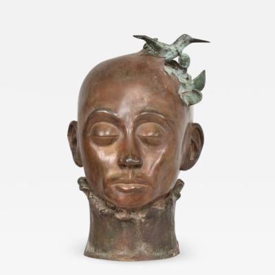 Surrealist Bronze Sculpture Mexico 1960s