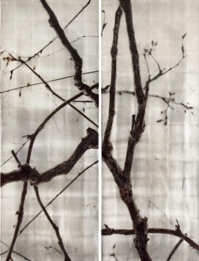 Susan Goldsmith Complementary Angles Diptych