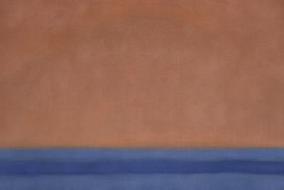 Susan Vecsey Untitled Atomic Orange Blue