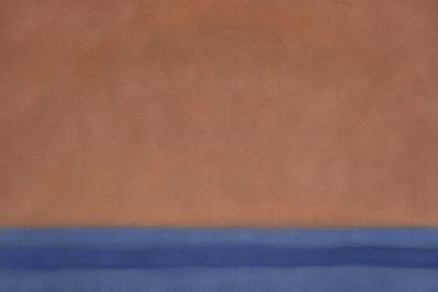 Susan Vecsey Untitled Atomic Orange Blue