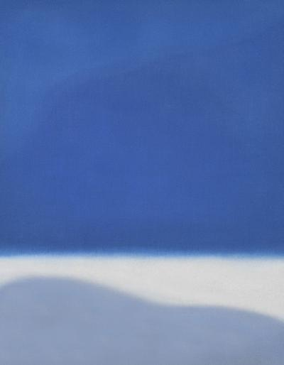 Susan Vecsey Untitled Blue White