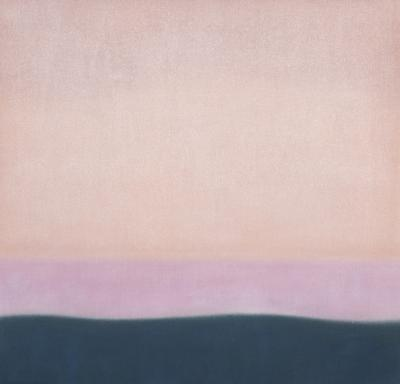 Susan Vecsey Untitled Coral Pink