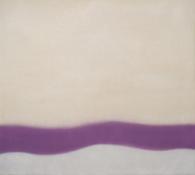 Susan Vecsey Untitled Violet Wave