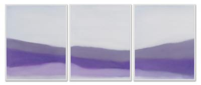 Susan Vecsey Untitled White Lavender