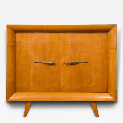 Suzanne Guiguichon Sleek Arte Moderne Cabinet