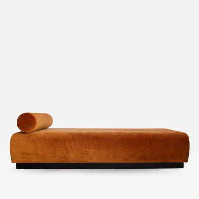 Suzanne Guiguichon Suzanne Guiguichon Daybed with Rusty Velvet Upholstery