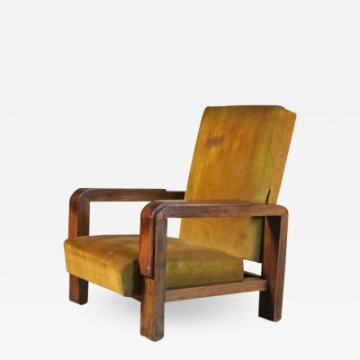 Suzanne Guiguichon Suzanne Guiguichon Large Adjustable Arm Club Chair