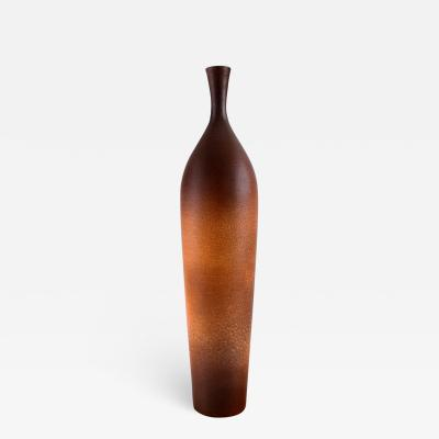 Suzanne Rami Large vase in glazed stoneware Beautiful glaze in light brown tones