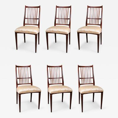 Svante Skogh Set of Six Dining Chairs by Svante Skogh
