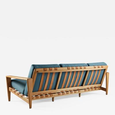 Svante Skogh Swedish Mid Century Three Seater Sofa by Svante Skogh for Seffle Mo belfabrik