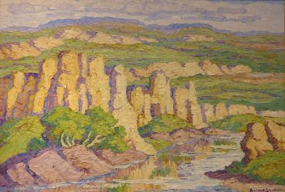 Sven Birger Sandz n Wild Horse Creek