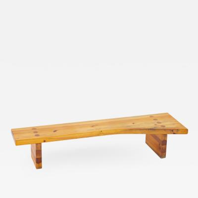 Sven Larsson Swedish Bench in Pine by Sven Larsson 1970s