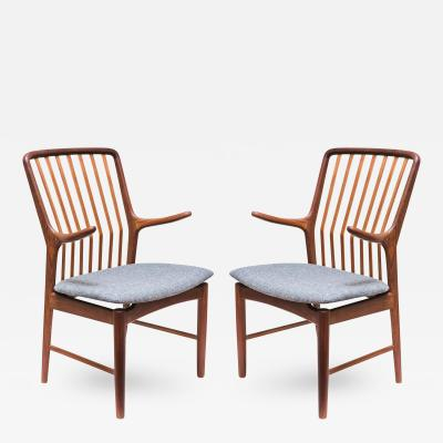 Svend A Madsen Pair of Svend Aage Madsen Armchairs