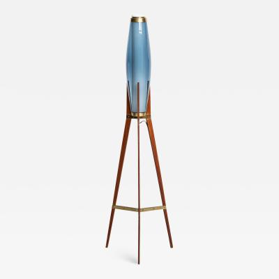 Svend Aage Holm S rensen Floor Lamp Produced by Holm S rensen Co in Denmark