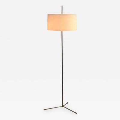 Svend Aage Holm S rensen Svend Aage Holm Sorensen Brass Floor Lamp Denmark 1950s