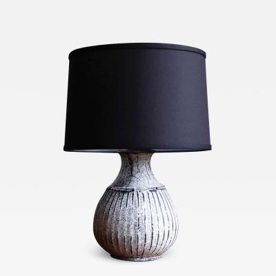 Svend Hammersh i Hammershoj Glazed Stoneware Table Lamp by Svend Hammersh i