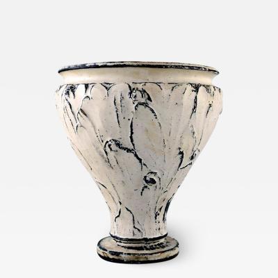 Svend Hammersh i Hammershoj K hler Denmark glazed vase 1930s Designed by Svend Hammersh i