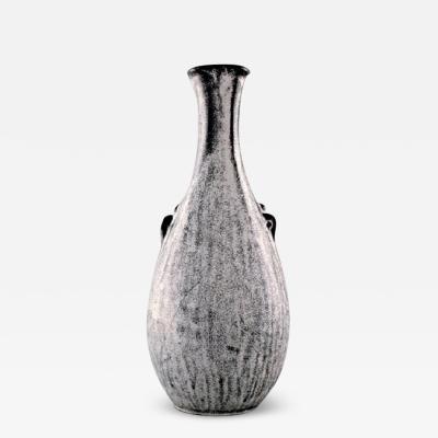 Svend Hammersh i Hammershoj K hler Denmark stoneware vase 1930s Designed by Svend Hammersh i