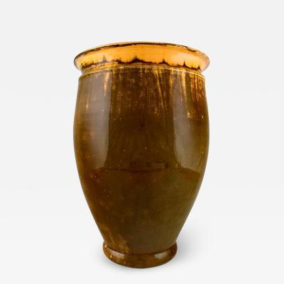 Svend Hammersh i Hammershoj Large K hler Denmark Svend Hammersh i glazed floor vase in stoneware