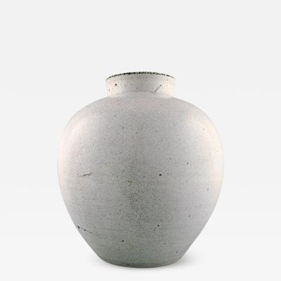 Svend Hammersh i Hammershoj Large K hler Denmark glazed earthenware vase Designed by Svend Hammershoi