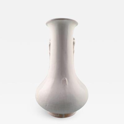 Svend Hammersh i Hammershoj Large K hler HAK glazed earthenware vase 1930s